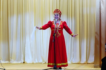 Концерт Петровского СДК в Перелешинском ДК 21 февраля 2020 года