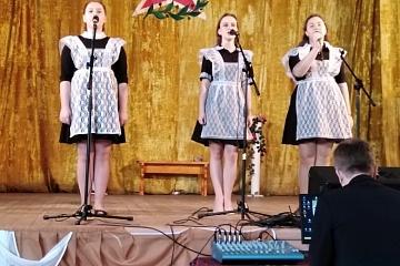 Отчетный концерт в с.Осетровка
