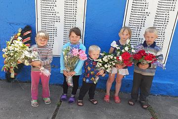 Возложение венков к памятнику погибшим воинам 22 июня 2020 г.