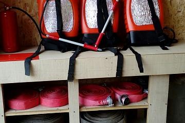 Событие, очень важное для Игмасского поселения- Открытие подразделения добровольной пожарной команды п.Игмас.