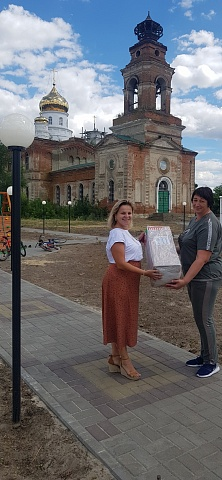 24 июля  2020 года  представители Благотворительного фона «АГРОЭКО»  посетили Пыховского  сельское   поселение, посмотрели  завершаемый объект сквер «Жемчужина села» , где благотворительный фонд «Агроэко» стал участником софинансирования данного проекта .
