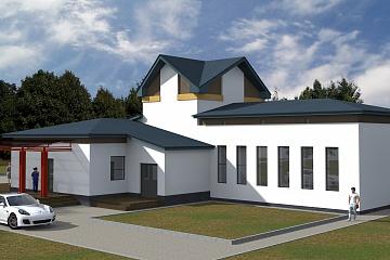 Строительство сельского дома культуры