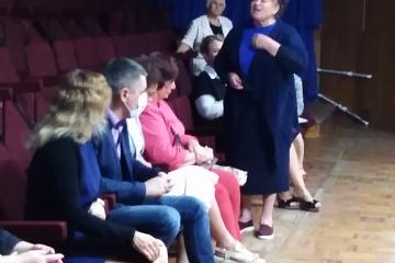 14 августа 2020г. прошла встреча жителей поселка с кандидатами в депутаты районного и законодательного собрания Калужской области.