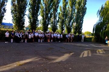 Праздник 1 сентября в Вязовской школе