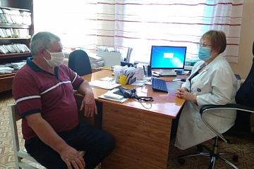Тематический приём в рамках недели приёмов граждан по вопросам организации здравоохранения в осенне-зимний период в условиях сложившейся эпидемиологический обстановки