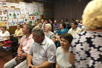 Встреча главы администрации Каширского муниципального района Пономарева А.И. с жителями поселения