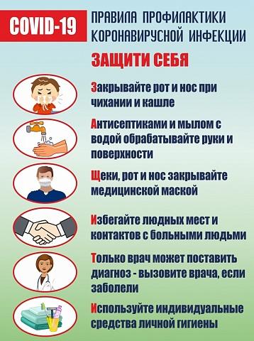 О правилах профилактики гриппа и коронавирусной инфекции