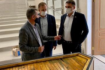 8 октября Верхнемамонский муниципальный район  с рабочим визитом посетил  депутат Государственной Думы Российской Федерации  Андрей Павлович Марков