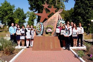 Всероссийская акция «Цветы памяти» состоялась 3 сентября 2020 года