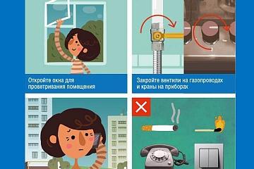 Газобезопасность. Правила использования газа в быту