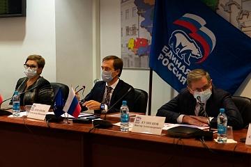 Политические партии региона обсудили организацию медицинской помощи больным коронавирусной инфекцией