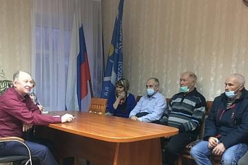 В администрации прошла встреча главы города Советска В. И. Порубова с представителями спорта