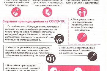 Памятка «Вакцинация от гриппа»