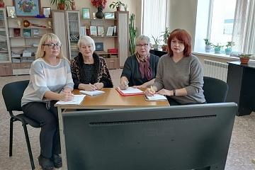 Работники методического отдела РДК приняли участие в вебинаре «Областная школа методиста»