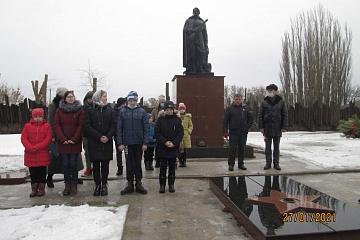 27 января 2021 года у памятника погибшим воинам , прошло торжественное мероприятие, посвященное Дню освобождения села Кочетовка от немецко-фашистских захватчиков