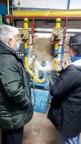 Ремонтно - восстановительные работы котла ТВГ-8М № 1 завершены