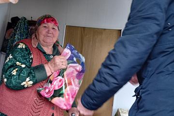 Поздравление жителей села со светлым праздником Цаган Сар - калмыцким праздником весны
