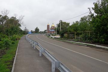 Окончено строительство моста
