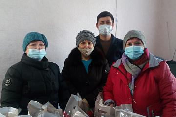 Глава администрации Виноградненского СМО Республики Калмыкия поздравил односельчан со щедрой, веселой Масленицей