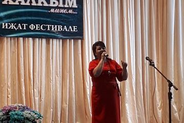 """В селе Алькино прошел межмуниципальный творческий фестиваль """"Халкым минем""""."""