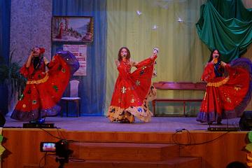 """16 апреля в Дракинском ДК состоялось театрализованное представление  """"В гостях у Мельпомены"""""""