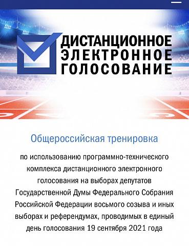 Сегодня, 21 апреля, стартовало общероссийское тестирование системы дистанционного электронного голосования