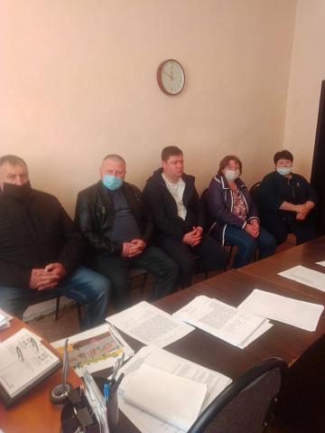 Состоялось 3-е заседание Совета народных депутатов