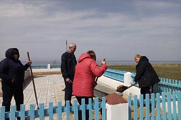 Субботник в сельском поселении Давыдовка муниципального района Приволжский Самарской области