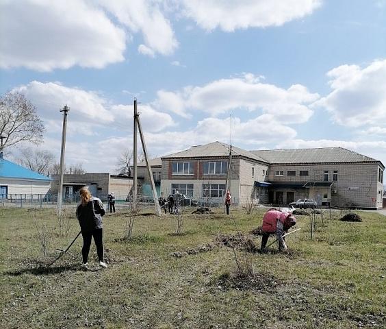 Благоустройство территории в Синявском сельском поселении