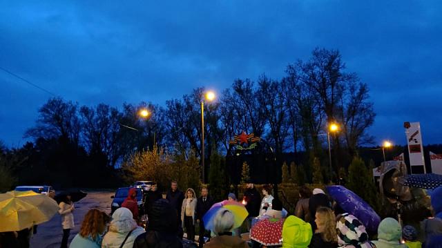 8 мая на территории поселка прошла ставшая уже традиционной акция «Свеча Памяти».