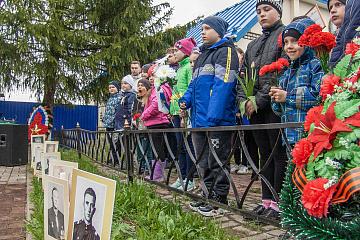 День Победы в поселке Мятлево
