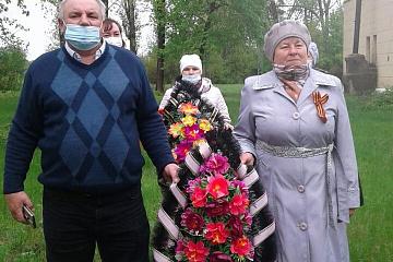 9 мая   на территории  поселка Вознесеновка состоялся митинг, посвященный 76-й годовщине Победы в Великой Отечественной войне.