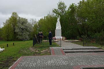 Новая Чигла. Митинг «Сюда нас память позвала», посвященный 76-ой годовщине Победы в Великой Отечественной войне.