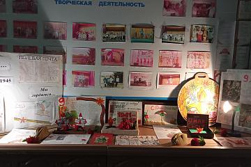 Новочигольский СДК. Фотовыставка « Спасибо деду за Победу!»