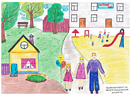 Итоги районной онлайн-выставки детского рисунка «В мире счастливого детства»