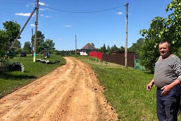 """В сельском поселении """"Село Заречный"""" началось грейдирование дорог."""