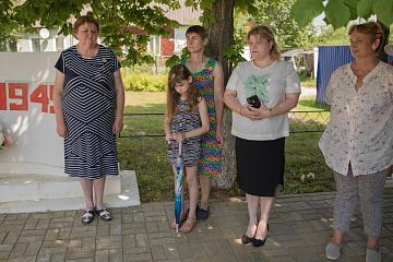 Мятлевцы присоединились к Всероссийской акции «Минута молчания», посвященной 80-летию со дня начала Великой Отечественной войны