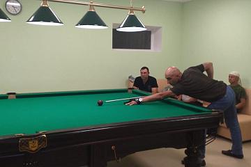 В ФКЦ «Олимпийский» состоялся первый дружеский турнир по бильярду