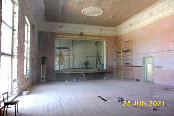 Ремонт Петровского Дома культуры - 25 июня 2021 г