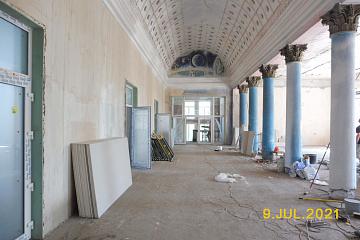 Ремонт Петровского Дома культуры - 9 июля 2021 г