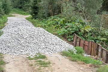 Депутат Кондюрин С.Е. помог с ремонтом дороги в деревне Фотьяново