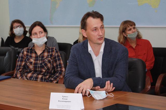 В Кадастровой палате прошла встреча с представителем Мэра города Вологды
