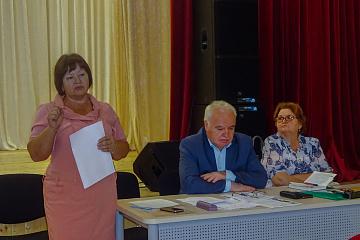 Встреча местной власти с активом поселка Мятлево