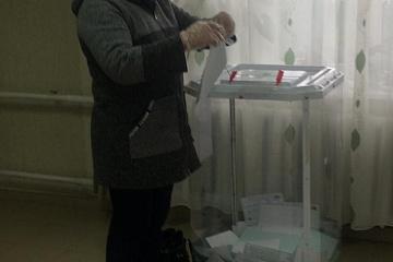 Началось трехдневное голосование на выборах в Госдуму и Поселковый Совет МО СП «Поселок Мятлево»