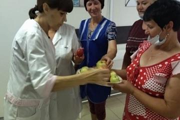 Акция «Яблочный спас яблочко припас»