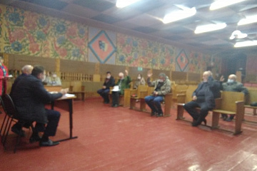 Петропавловка. 04.10.2021 состоялась сессия Совета народных депутатов Петропавловского сельского поселения.