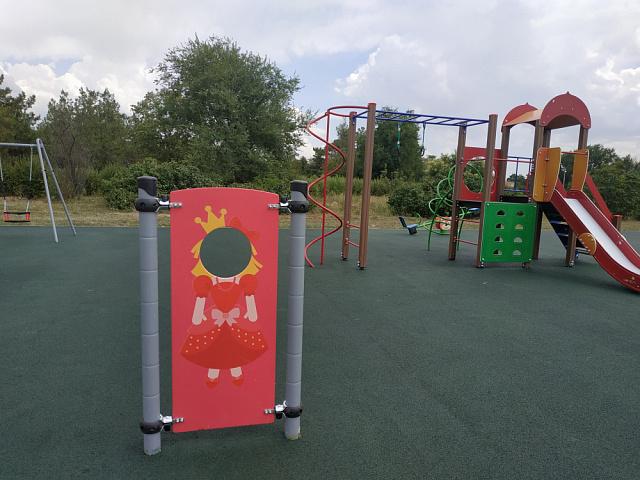 Социально-значимый проект «Обустройство детской площадки п.Лазаревский»