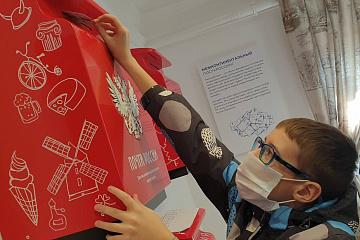 В Доме купца Иванова в Самаре прошли детские экскурсии и мастер-класс по посткроссингу