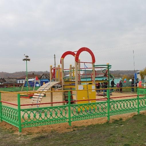 """Открытие детской площадки и открытие парка """"Школьный"""""""